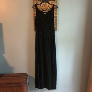 Mossimo cross front sleeveless maxi dress
